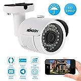 KKmoon 1080P IP Kamera 2.0MP 4mm 1/2.9 '' für Sony CMOS H.264 P2P Onvif 36 IR LED Nachtansicht IR-Cut Bewegungserkennung Wasserdichtes Telefon APP Steuerung Home Security