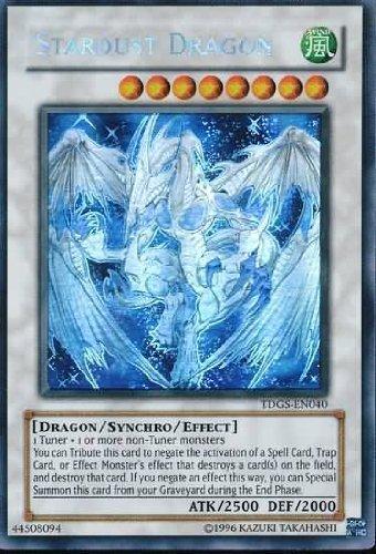 Yu-Gi-Oh! - Stardust Dragon (TDGS-EN040 ) - The Duelist Genesis - Unlimited Edition - Ghost Rare