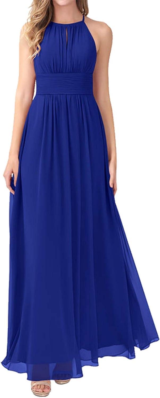 JAEDEN Bridesmaid Dress Long Prom Dresses Chiffon Wedding Party Dresses Pleat Bridesmaid Dresses Sleeveless