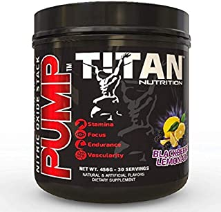 Pump- Stimulant Free Nitric Oxide Boosting Stack, with Citruline Malate for Maximum Pump, Vascularity and Improved Circula...