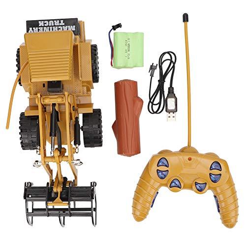 LIUTT giocattolo Bulldozer - ingegneria auto giocattolo simulazione 1:36 telecomando 5 canali camion di lavorazione del legno