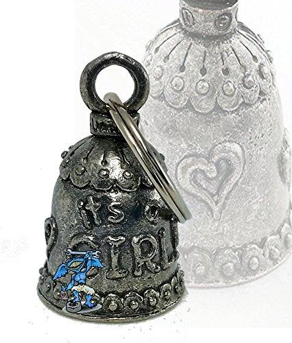 Daywalker Bikestuff Guardian Bell Cloche de protection Biker Bell pour la naissance de la fille It's a Girl