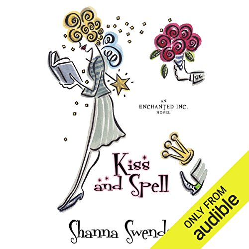 Kiss and Spell     A Novel              By:                                                                                                                                 Shanna Swendson                               Narrated by:                                                                                                                                 Eva Wilhelm                      Length: 8 hrs and 31 mins     806 ratings     Overall 4.5