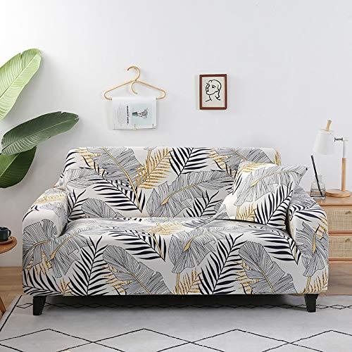 WXQY Patrón Funda de sofá Sala de Estar Funda de sofá sofá Toalla Silla Esquina Funda de sofá Funda de sofá en Forma de L Funda de sillón A21 1 Plaza