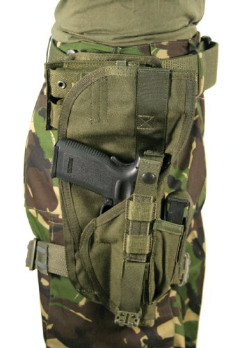 BLACKHAWK Special Operations Holster, Olive Drab, Right Hand (Most Large Frame Weapons)