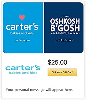 Carter's/OshKosh Gift Cards - E-mail Delivery