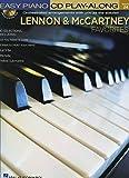 Lennon & Mccartney Favorites Piano +CD (Easy Piano Play Along Book/CD) (Easy Piano CD Play-Along)