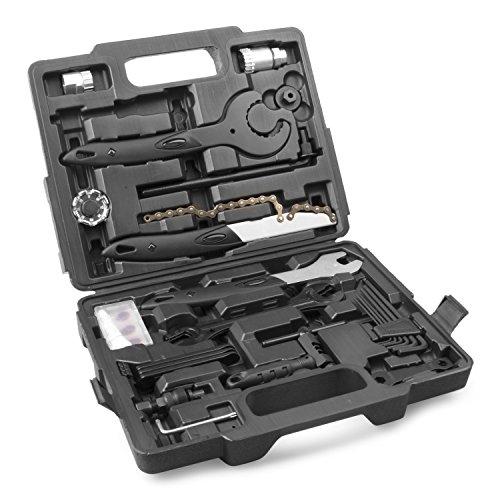 Provelo - Mallette à Outils pour Vélo - 26 pièces - Tous les Outils d'Entretien et de Réparation nécessaires pour tous Types de Vélos - Compact et de haute Qualité