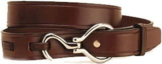 Havana Nickel Hoof Pick Buckle Belt