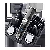 Cuchilla En Maquina Cortar Pelo, Cortapelos Hombre Profesional Inalámbrico Batería, Cortadora De Pelo Con USB, Recortador Pelo Barba Kit Familia
