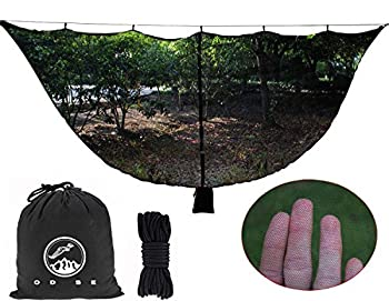 ODSE Hammock Bug Net Hammock Mosquito Net Fits All Camping Hammocks - Compact Lightweight Fast Easy Setup Essential Camping and Survival Gear
