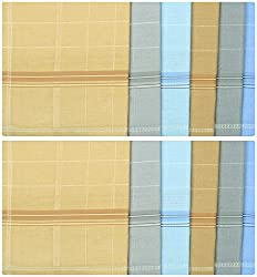 Reddington Mens Cotton Handkerchief - Pack of 12 (Multi-Coloured)