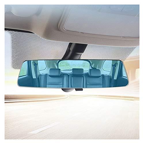 BENGKUI WUWENJIE Coche Interior 2.5D Full Sn Sn Retrovisor Enamorado, Gran Campo de visión, Espejo retrovisor Anti-deslumbramiento panorámico (Color Name : Blue)