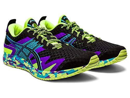 ASICS Men's Gel-Noosa Tri 12 Running Shoes, 8M, Black/Black