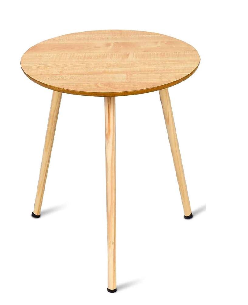 ショット湾衝突するBestBuy サイドテーブル ミニテーブル フロアテーブル 天板直径40x高さ41.5cm ナイトテーブル ベッドサイド ソファサイド テーブル