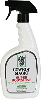 Cowboy Magic 32 fl oz Super Body Shine Spray Detangler Hair No Water Needed