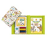 Tiger Tribe How to Draw Set, Wild Kingdom Arts and Crafts Kit