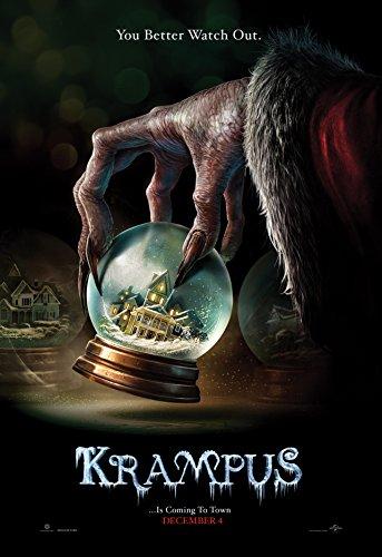 WMG Krampus - Movie Poster 24 x 36 Inches, Glossy Photo Paper (Thick - 8 Mil): Adam Scott, Allison Tolman, Toni Collette