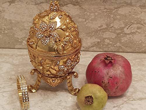 GOLD Pomegranate Jewelry box