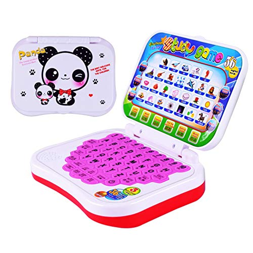 Baby Laptop Toy,Toy Computer Laptop Tablet Baby Children Educational Learning Machine Toys Electronic Kids Study Game (Random Color)