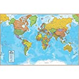 World Desk Mat Giant Mouse Pad by Round World Products