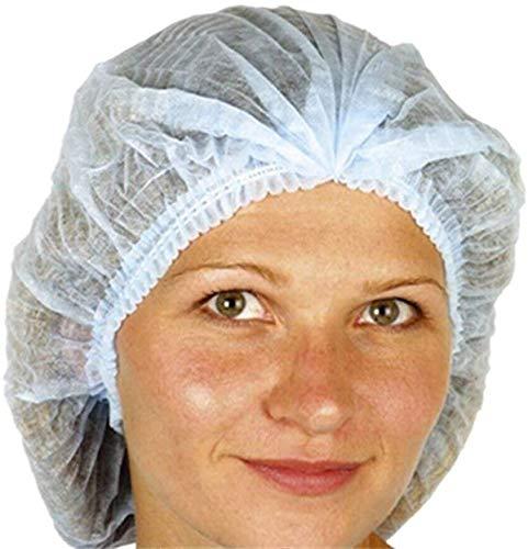 Velishy Lot de 100 filets à cheveux jetables non tissés Taille unique