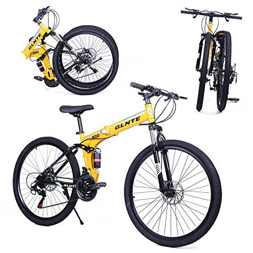 "Riscko Bicicleta Plegable Mountain Bike MTB 26"" 21 SP Shimano Adventur"