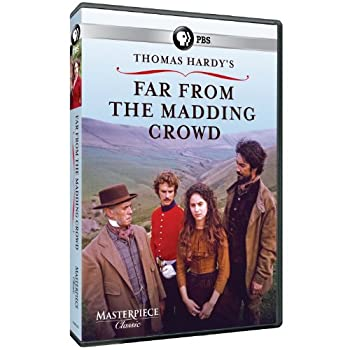 DVD Far from the Madding Crowd Book