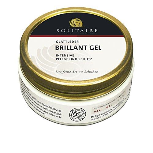 Solitaire Brillant Gel im 2er Pack je 100 ml Schuhpflege Schwarz und Dunkelbraun (8,95 EUR / 100 ml)