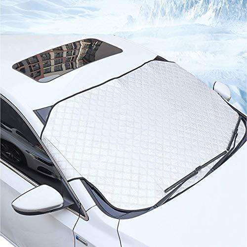 Cubierta de parabrisas de coche Anti nieve Frost Ice Parabrisas Protector de polvo Calor Sombrilla Invierno Útil