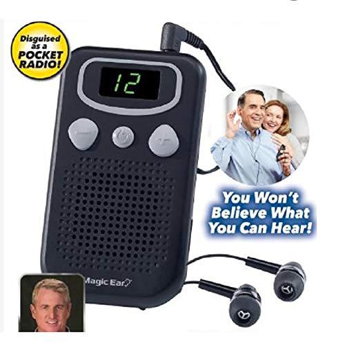 SJZV Schallverstärker, linkes und rechtes Ohr , Hochmoderner Schallverstärker für ältere Menschen, Geräuschreduzierung
