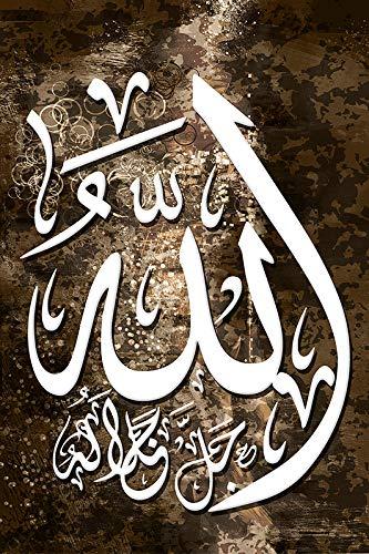 5d Diamantmalerei Allah Islam Muslim Religion Wandkunst Mosaik Bild Kreuzstichset Strass Dekoration Weihnachtsgeschenk