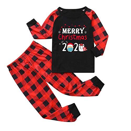 Ensemble De Pyjama Noel Parent Enfant Vetement, Parents et Enfants, Combinaison Le Maillot de Corps bébé, Cosplay Vêtement Pyjama Families Hiver