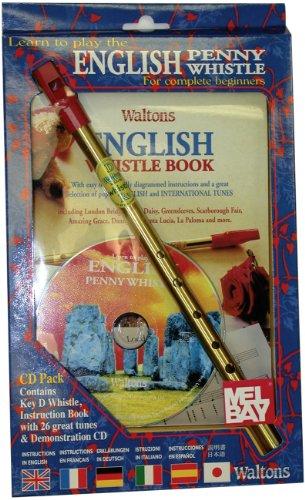 Waltons English Tin Whistle CD Pack