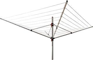 Vileda 125840 Viva Air Ultra Light Séchoir à Linge Extérieur Métal Blanc 19,7 x 14 x 14 cm
