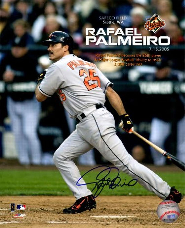 Rafael Palmeiro signed Baltimore Orioles 8x10 Photo (3000th Career Hit)