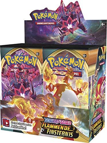Pokemon Flammende Finsternis Display Deutsch