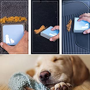 Pet Brush, High Quality Fabric | Easy To Carry | Intimate Protection Pet Dog's And Cat's Hair Cleaning Brush:Deepld