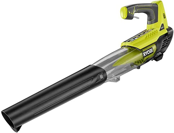 Ryobi P2108A ONE 100 Mph 280 CFM 18 Volt Lithium Ion Cordless Jet Fan Blower Battery And Charger Not Included