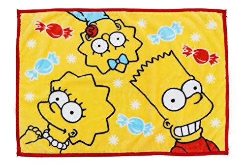 丸眞 ひざ掛け The Simpsons ザ・シンプソンズ 70×100cm ウォームスイート 4935000900