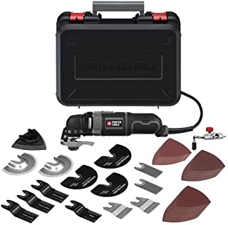 PORTER-CABLE Oscillating Tool Kit, 3-Amp, 52 Pieces (PCE605K52)