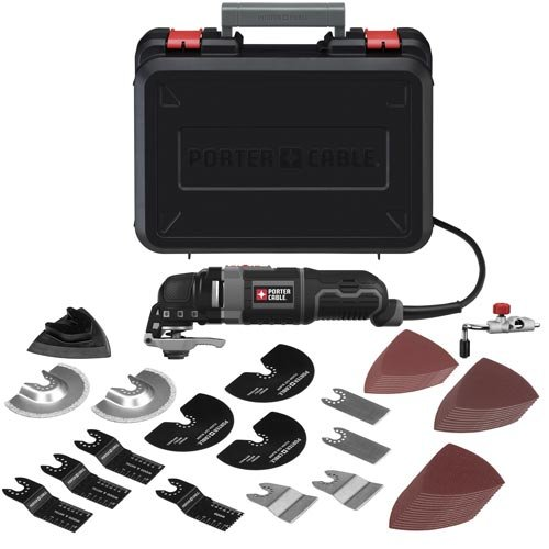 Lowest Price! PORTER-CABLE Oscillating Tool Kit, 3-Amp, 52 Pieces (PCE605K52)