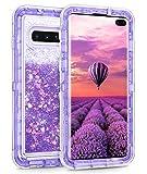 Coolden Heavy Duty Case for Galaxy S10 Plus Case Glitter