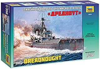 Zvezda 9039 - HMS DREADNOUGHT - Plastic Model Kit Scale 1/350 Length 18