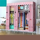 Closet Storage Closet Clothes Portable Organizadores de closet de bricolaje para el armario de vestimenta de vestimenta de vestimenta organizador de almacenamiento con almacenes de cañas y almacenes d