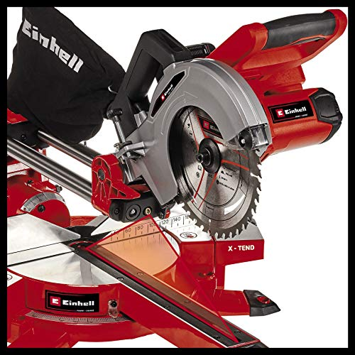 Einhell TE-SM 36/210 Li - Solo Power X-Change Cordless Sliding Mitre Saw - Supplied Without Battery & Charger