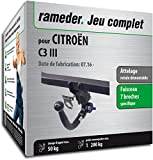 Rameder Attelage rotule démontable pour CITROËN C3 III + Faisceau 7 Broches...