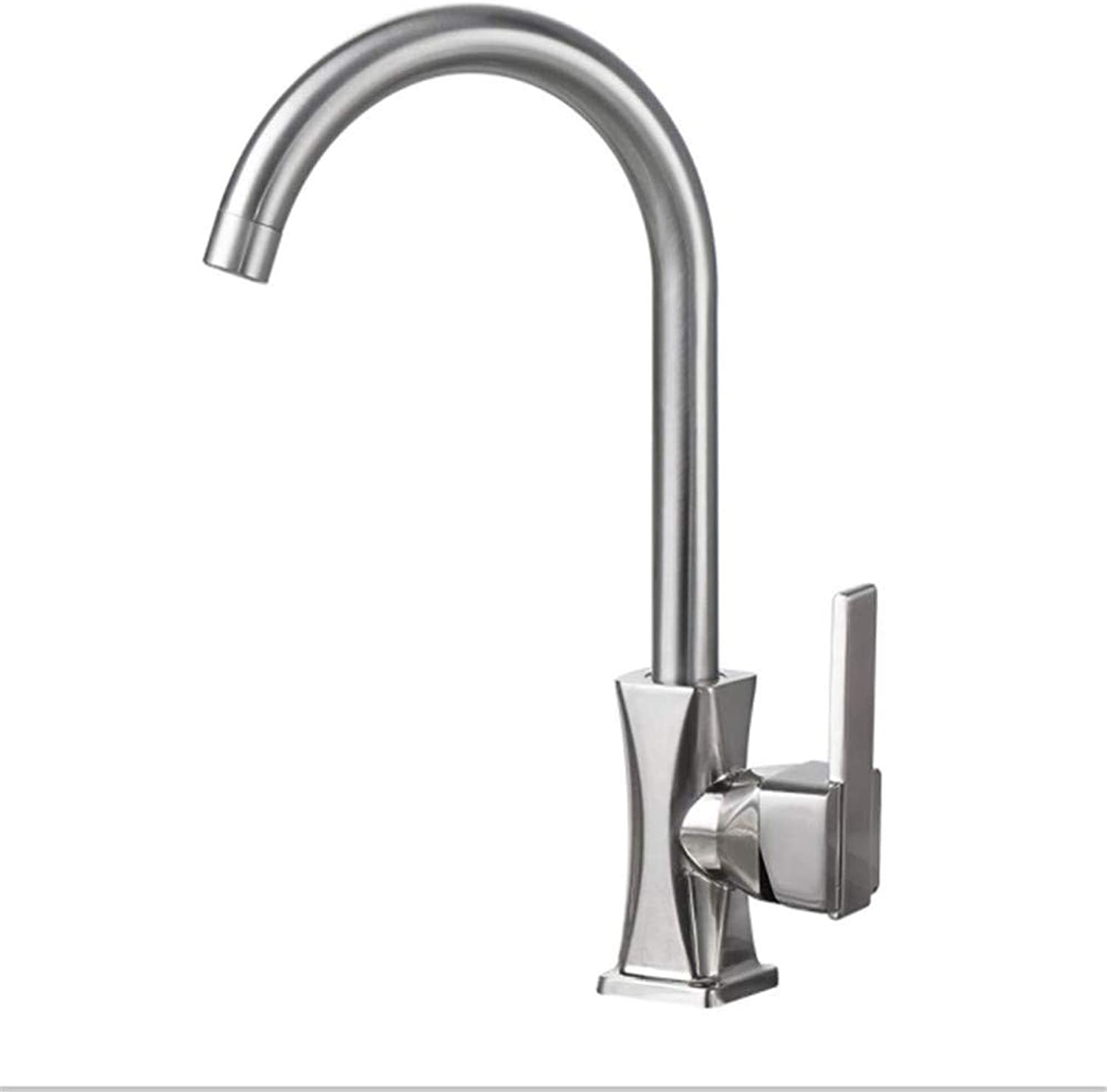 Water Tap Drinking Designer Archkitchen 304 Stainless Steel Faucet Lead-Free Sink Hot and Cold Faucet