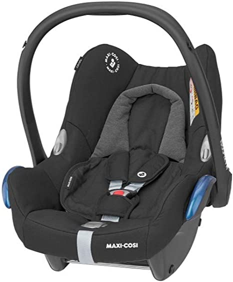 Maxi-Cosi CabrioFix Baby Car Seat, Group 0+, ISOFIX, Suitable from Birth, 0-12 Months, 0-13 kg, Essential Black: image