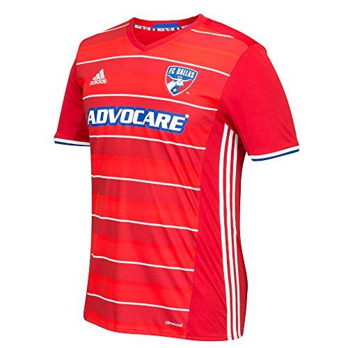 MLS Fc Dallas Men's Replica Short Sleeve Team Jersey, Red, Small